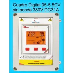 Cuadro Electrico Digital para Bombas Hasta 5,5CV-HP Trifasico DG31A