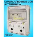 Cuadros Electricos 2 Bombas Motores con Alternancia Simultancia y Alarma
