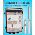 Bombeo Solar Directo de Placas Solares 12V-24V-48V-110V DC