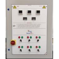 Cuadro para Ventilación Forzada de Aire con 2 Variadores de Frecuencia 6 Motores Control CO2
