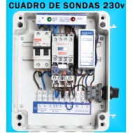 Cuadros de Sondas para bomba Sumergibles Pozo 1.50 HP monofásico MAXGE