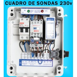 Cuadros de Sondas para bomba Sumergibles Pozo 0.33 / 0.50 HP monofásico MAXGE
