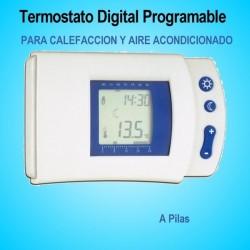 Termostato Digital Programable para Calefacción y Aire Acondicionado