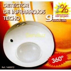 Interruptor Detector de movimiento de techo 360 1200w