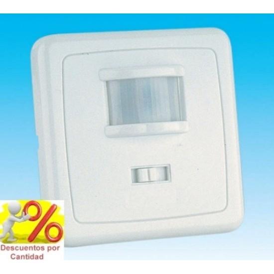 Detector de Movimiento de 2 hilos sensor PIR empotrable cajetin