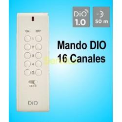 Mando a distancia de 16 canales para control de Dispositivos DIO