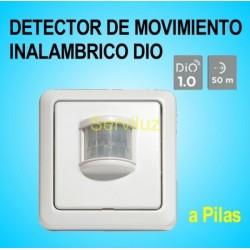 Sensor Detector de Movimiento Inalámbrico Clasic DIO a Pilas