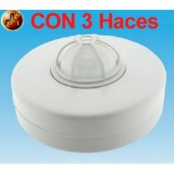 Detector Movimiento Sensor Pir de Techo (3 Sensores)