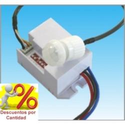 Detector de Movimiento Presencia Empotrable Mini Sensor pequeno