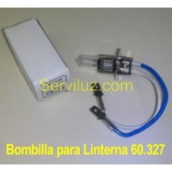 Bombilla para Linterna 60.327 Linterna halogena + 24 LED