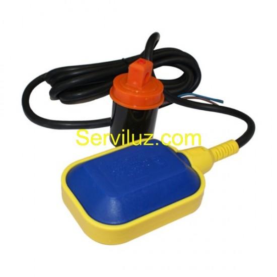 Boya de Nivel Interruptor para Bombas Pozo y Deposito cable 3m