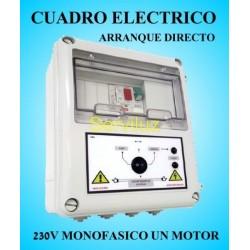 Cuadro eléctrico Bombas con  Motor 230v Monofásico  0.33HP a 0.50 HP CSD1-201