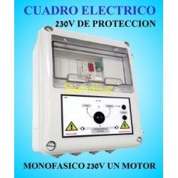 Cuadro Eléctrico Bombas  Motor 230V Monofásico de Protección   1.50 HP CSD1-203