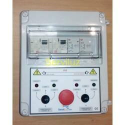 Cuadro Eléctrico Protección 2 Motores 400V Trifásico 3 HP CSD2-405 + Seta