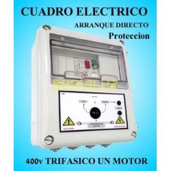 Cuadro Eléctrico Protección Bombas con Motor 400V Trifásico 0.50 HP CSD-402