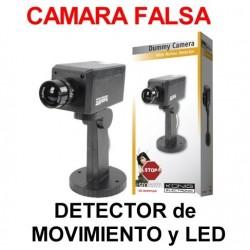 Camara Simulada-Falsa con Detector de Movimiento y LED