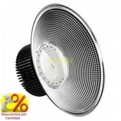 Campana industrial LED PRO 110W SMD 3030 3D Driverless Regulable 3000K