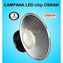 Campana LED Industrial OSRAM Profesional 150W SMD 3030-2D 4000K