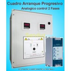 Cuadros de Arranque Progresivo Suave sobre 2 Fases 3.00 – 4.00 HP PSSR-401