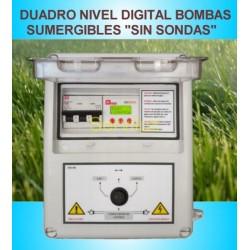 Cuadro eléctrico Digital Para Bomba Sumergible Sin Sondas 230V