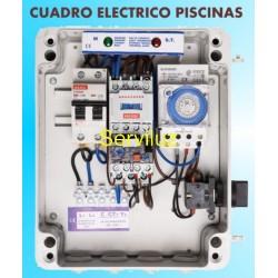 Cuadro de Piscinas de Proteccion 0.33 050 HP monofasico MAXGE