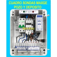 Cuadro de sondas 1 Bomba sumergible Pozo Deposito 0.33 0.50 HP Monofasico MAXE
