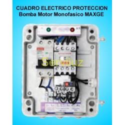 Cuadro Electrico  Proteccion 1 Bomba Motor Monofasico 0.33- 0.50 HP MAXGE