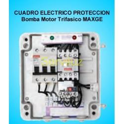 Cuadro Electrico  Proteccion 1 Bomba Motor Trifasico  0.33 HP MAXGE