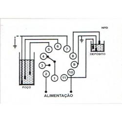 Rele de Nivel Pozo y Deposito Control Nivel de Liquidos 400V