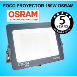 Foco Proyector LED 150W OSRAM IP65 4000K Exterior e Interior