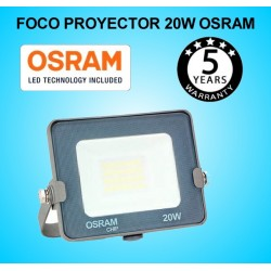 Foco Proyector LED 20W OSRAM IP65 6000K Exterior e Interior