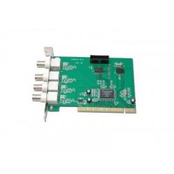 Tarjeta PCI DVR 4 canales 50Fps SLCV 8104C
