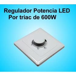 Regulador de Potecia LED por Triac de 600W