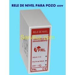 Rele de Sondas Nivel Pozo de Liquidos Conductivos 400V